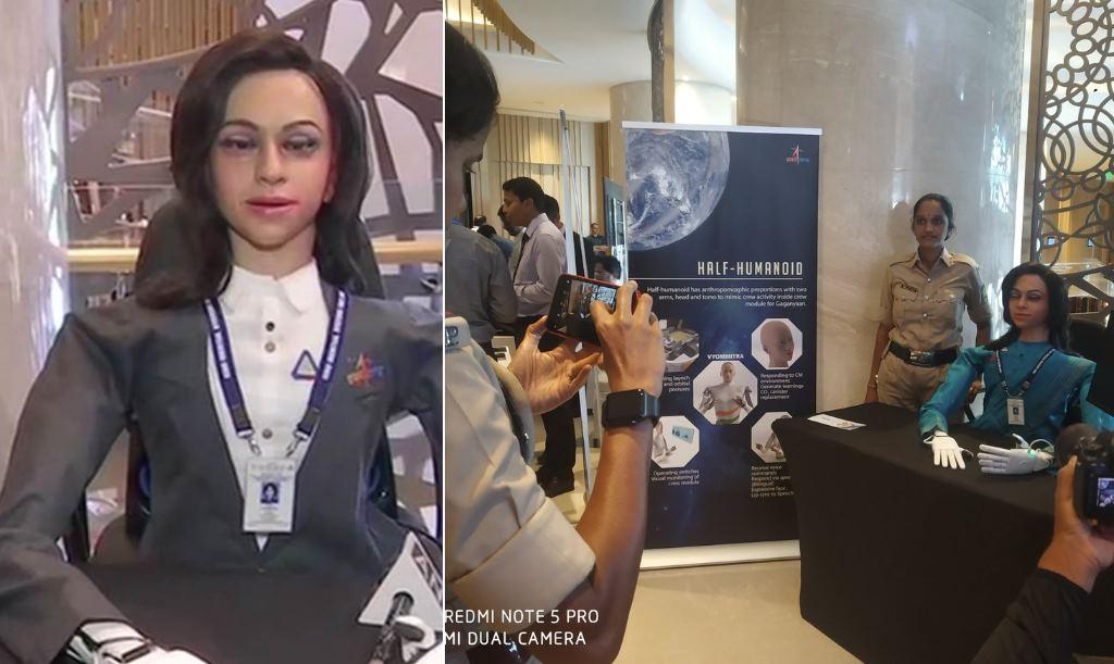 Vyommitra, el humanoide robot indio que viajará al espacio