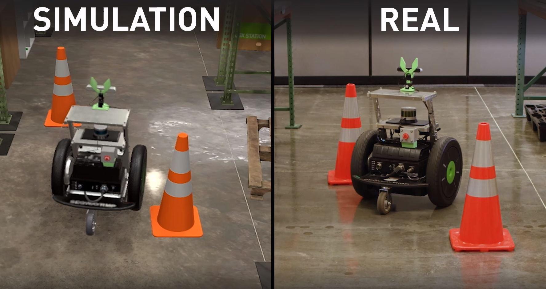 Nvidia y su plataforma de simulación para robots
