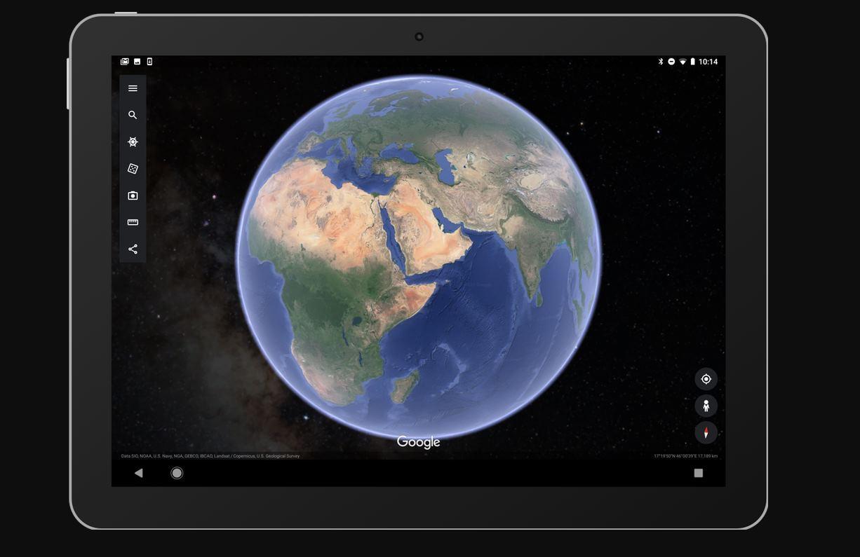 Google Earth añadirá vistas del espacio exterior en el móvil