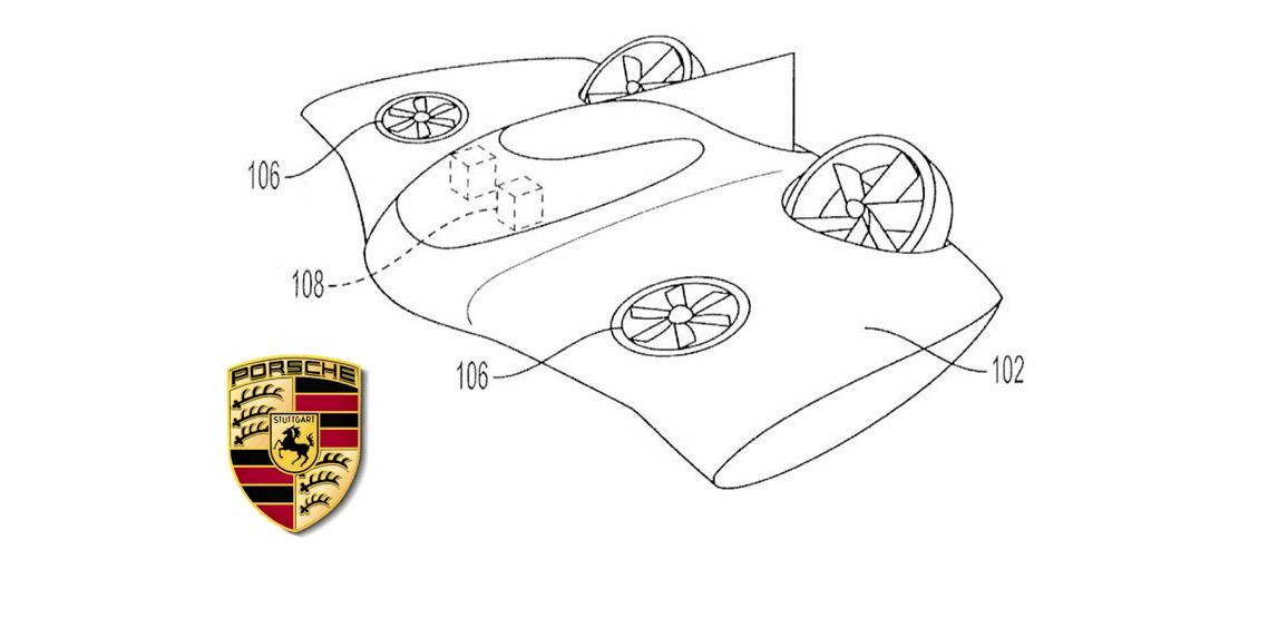 Porsche solicita patente de taxi volador