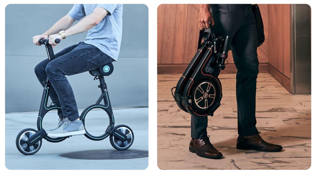 Las dos bicicletas eléctricas más pequeñas del mercado