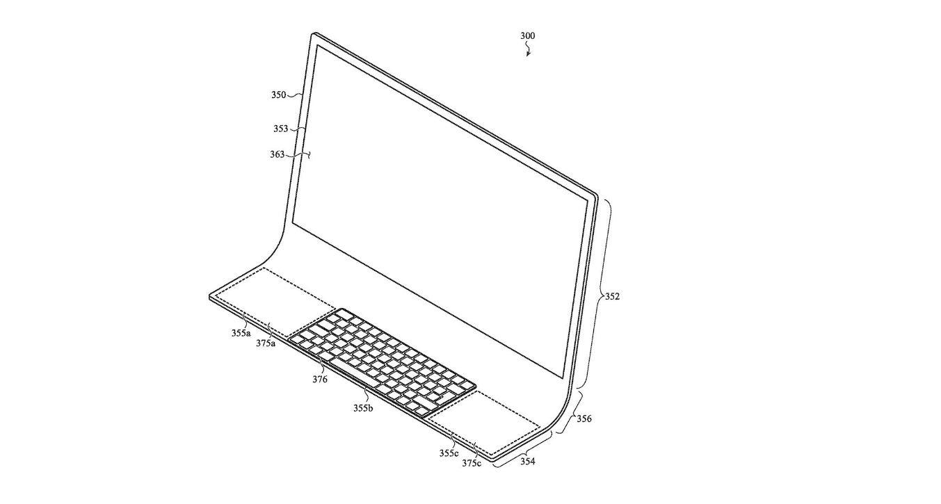 La nueva patente de Apple: un Mac completamente diferente