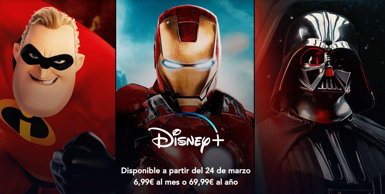 Disney+ llegará a Europa el 24 de marzo
