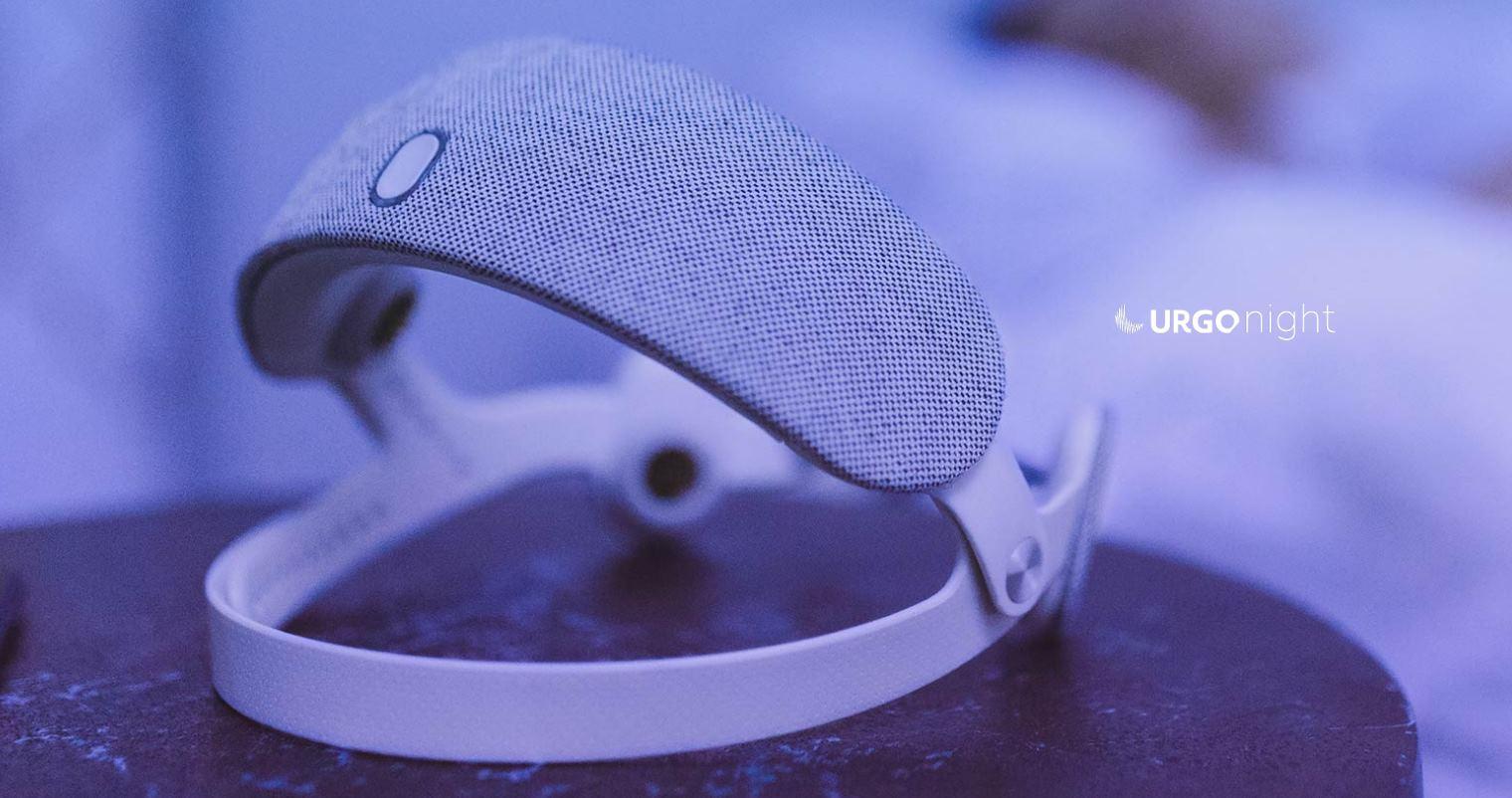 URGONight, un casco que dice ayudar a dormir mejor