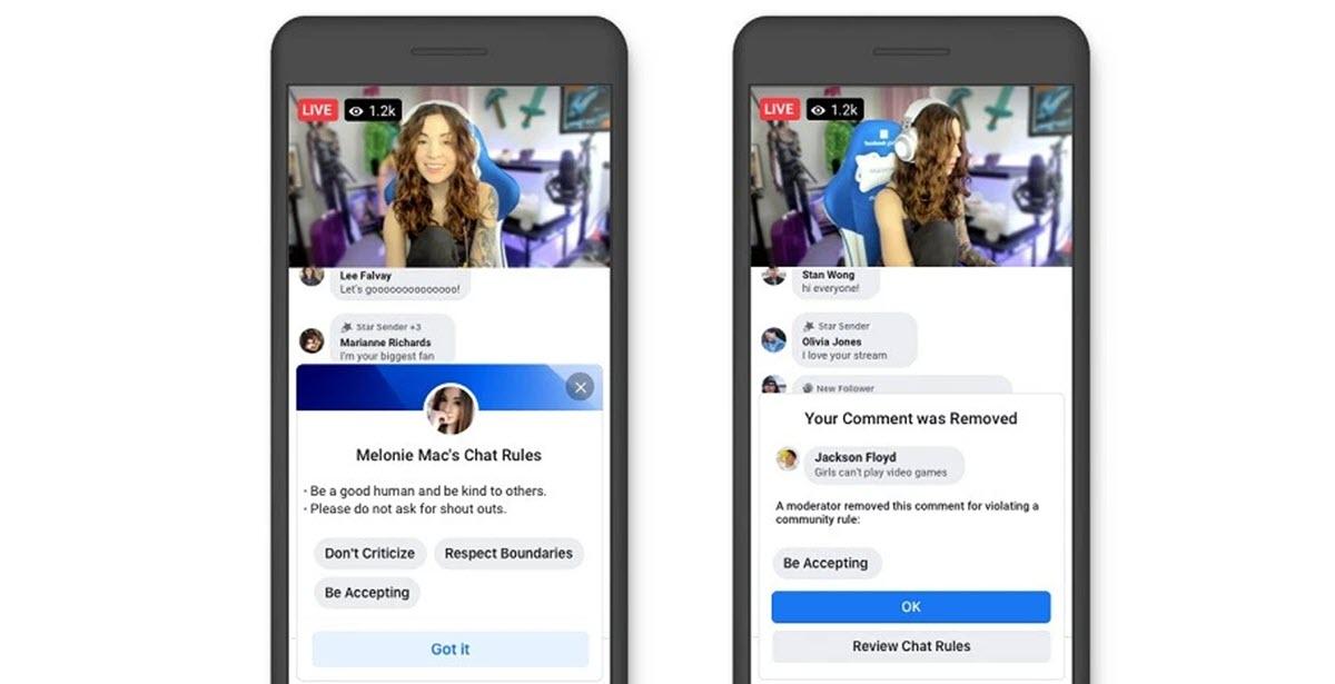 Facebook Gaming lanza nuevas herramientas para los streamers