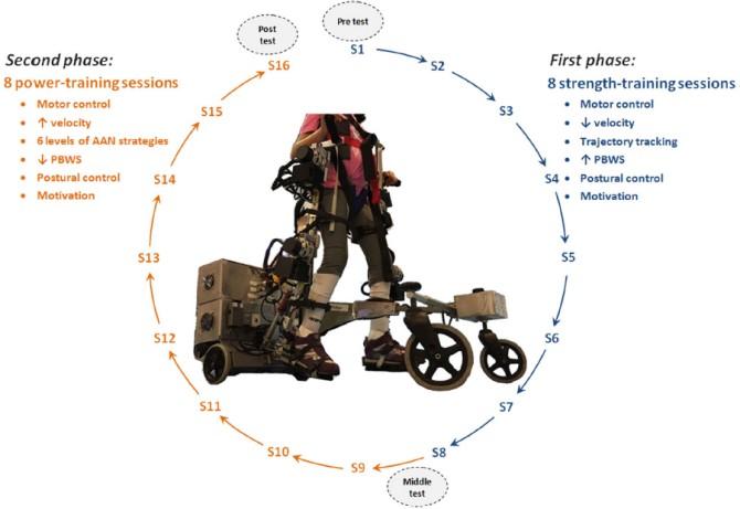 plataforma de entrenamiento cp walker