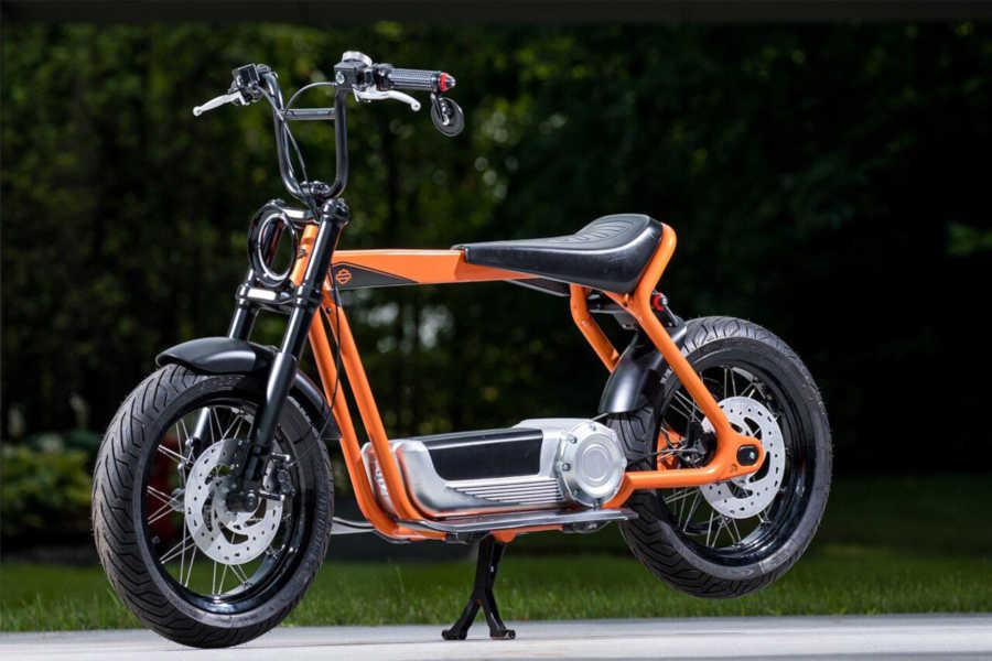 Harley-Davidson registra patentes de una moto scooter eléctrica