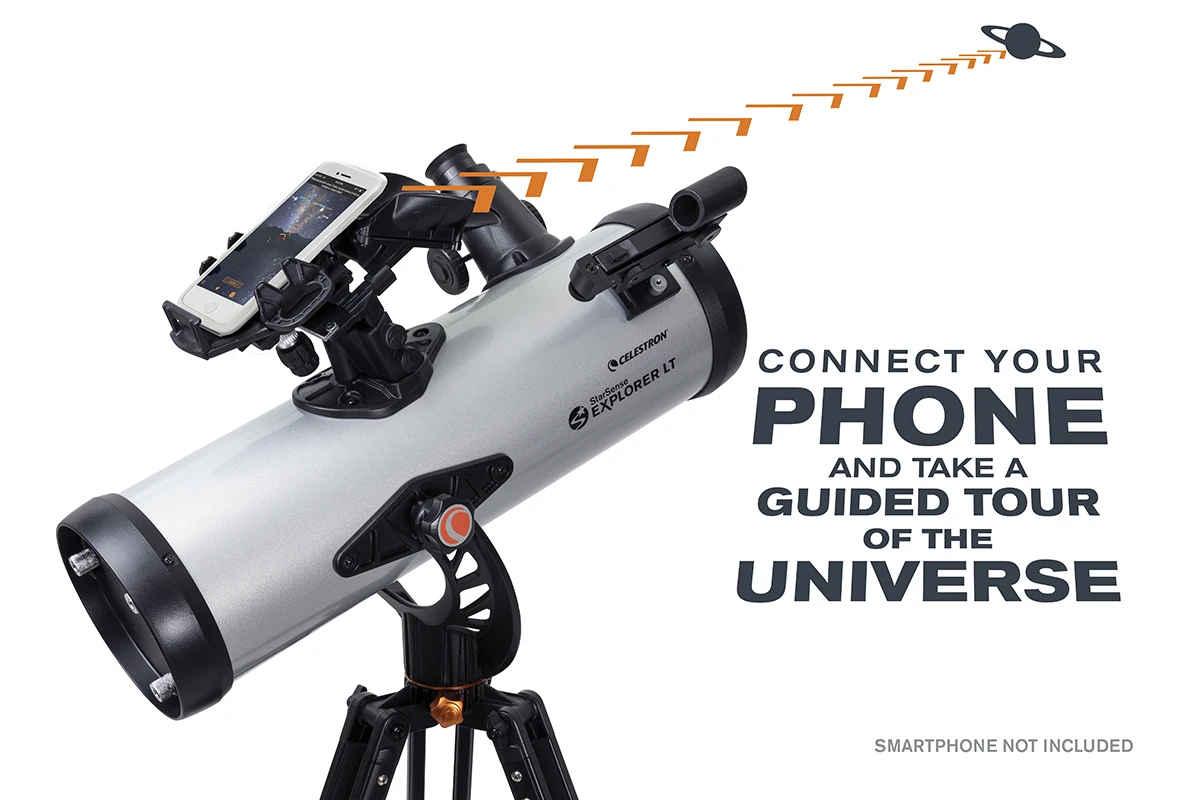 Telescopios con reconocimiento facial para estrellas, la iniciativa de Celestron en la CES 2020