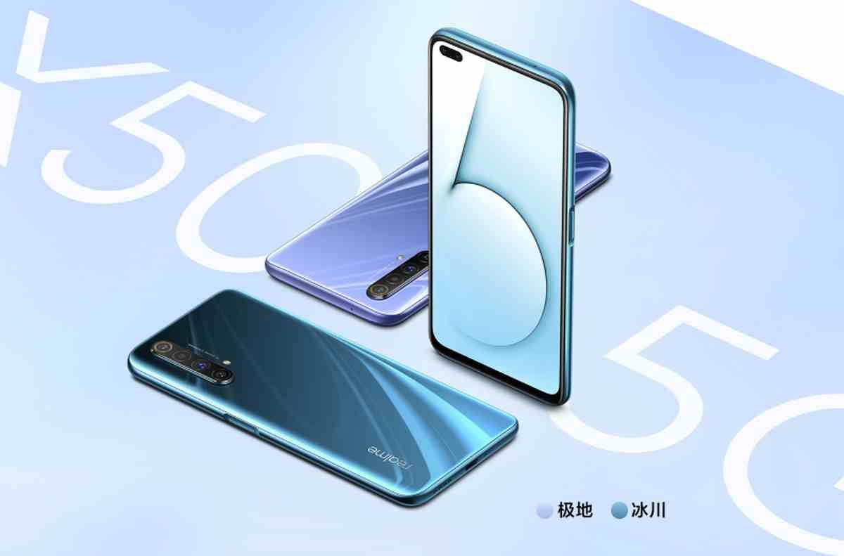 Así es el nuevo Realme X50 5G, el nuevo teléfono gaming de Realme con pantalla de 120 Hz