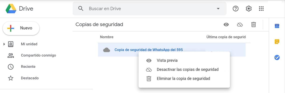 Google Drive cambió el modo de ver las copias de seguridad de móviles Android y así puedes acceder a ellas