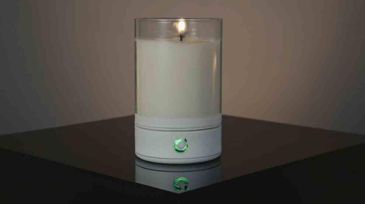 Una vela real que se controla por móvil aparece en Kickstarter