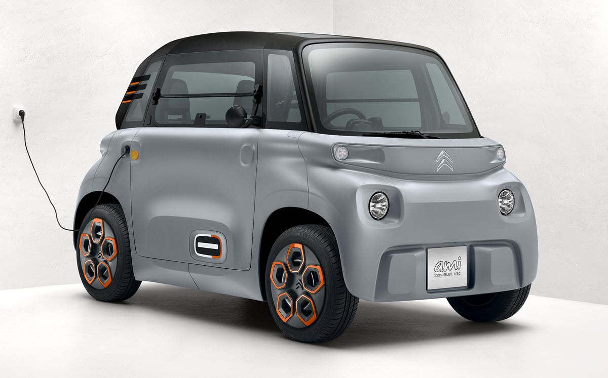 Citroën presenta un coche 100% eléctrico que no necesita permiso de conducir