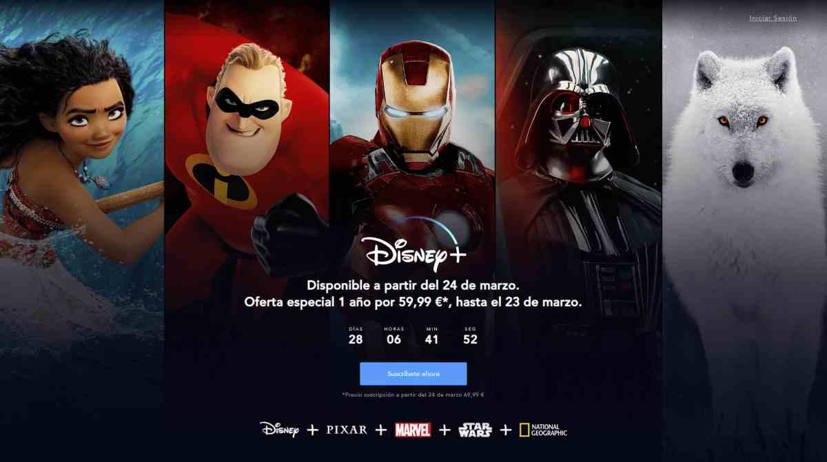 Disney+ trae un descuento promocional para el plan anual para los nuevos mercados europeos