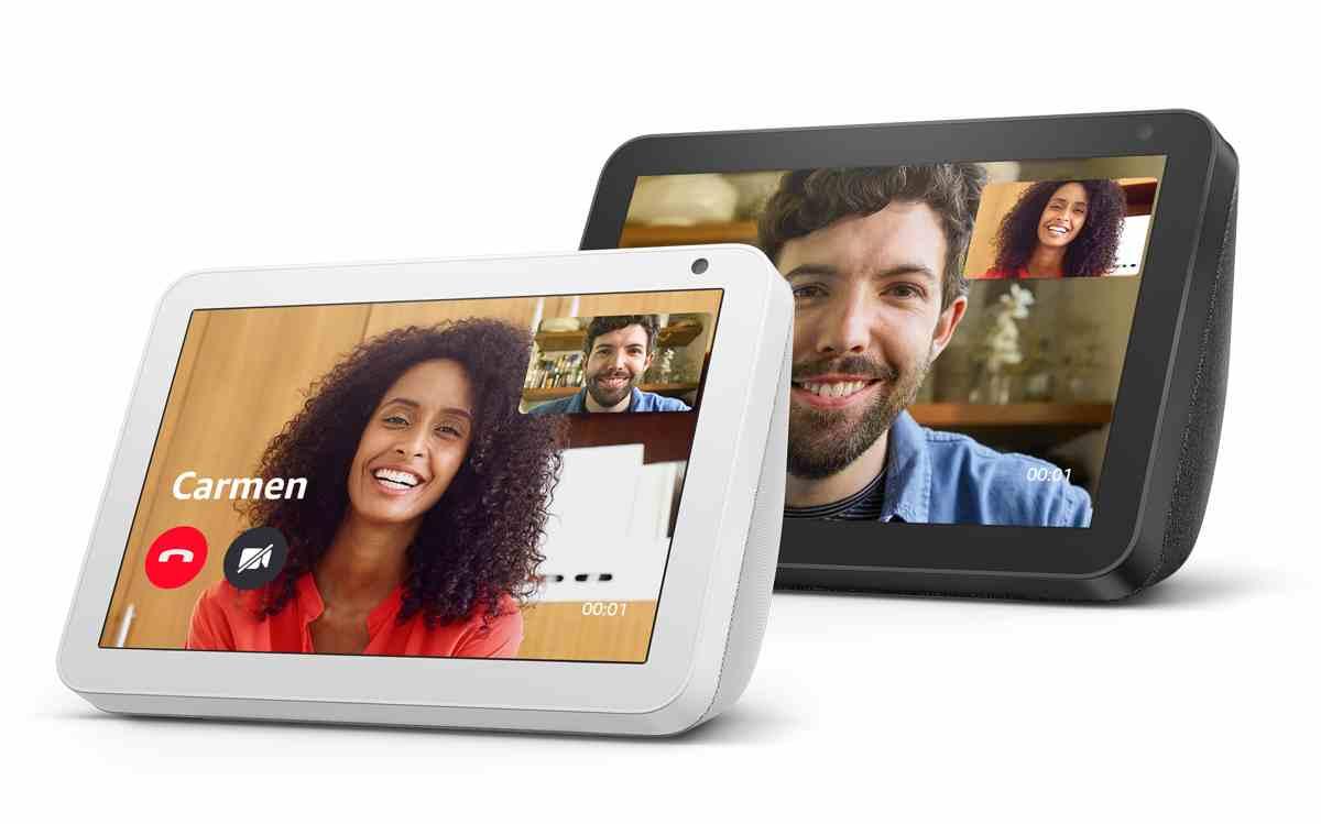La familia Echo de Amazon crece con la llegada de Echo Show 8, su nueva pantalla inteligente