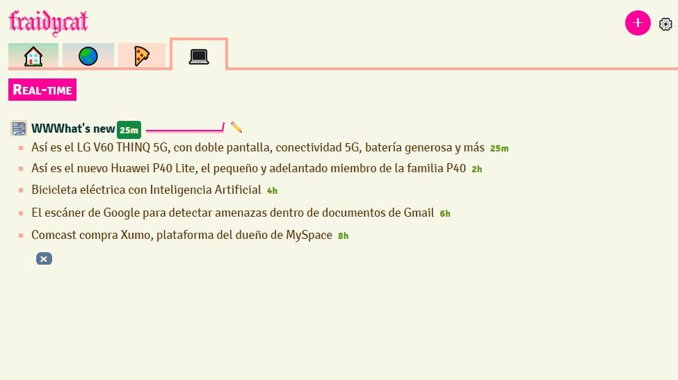 Fraidycat, una nueva e interesante alternativa a Feedly para agrupar y leer fuentes de noticias