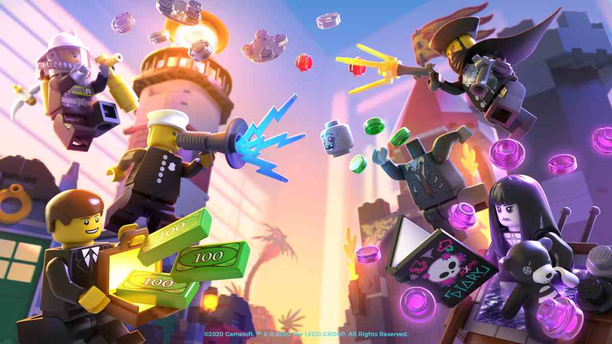 Llega LEGO Legacy: Heroes Unboxed, el juego de rol por turnos con las minifiguras de LEGO