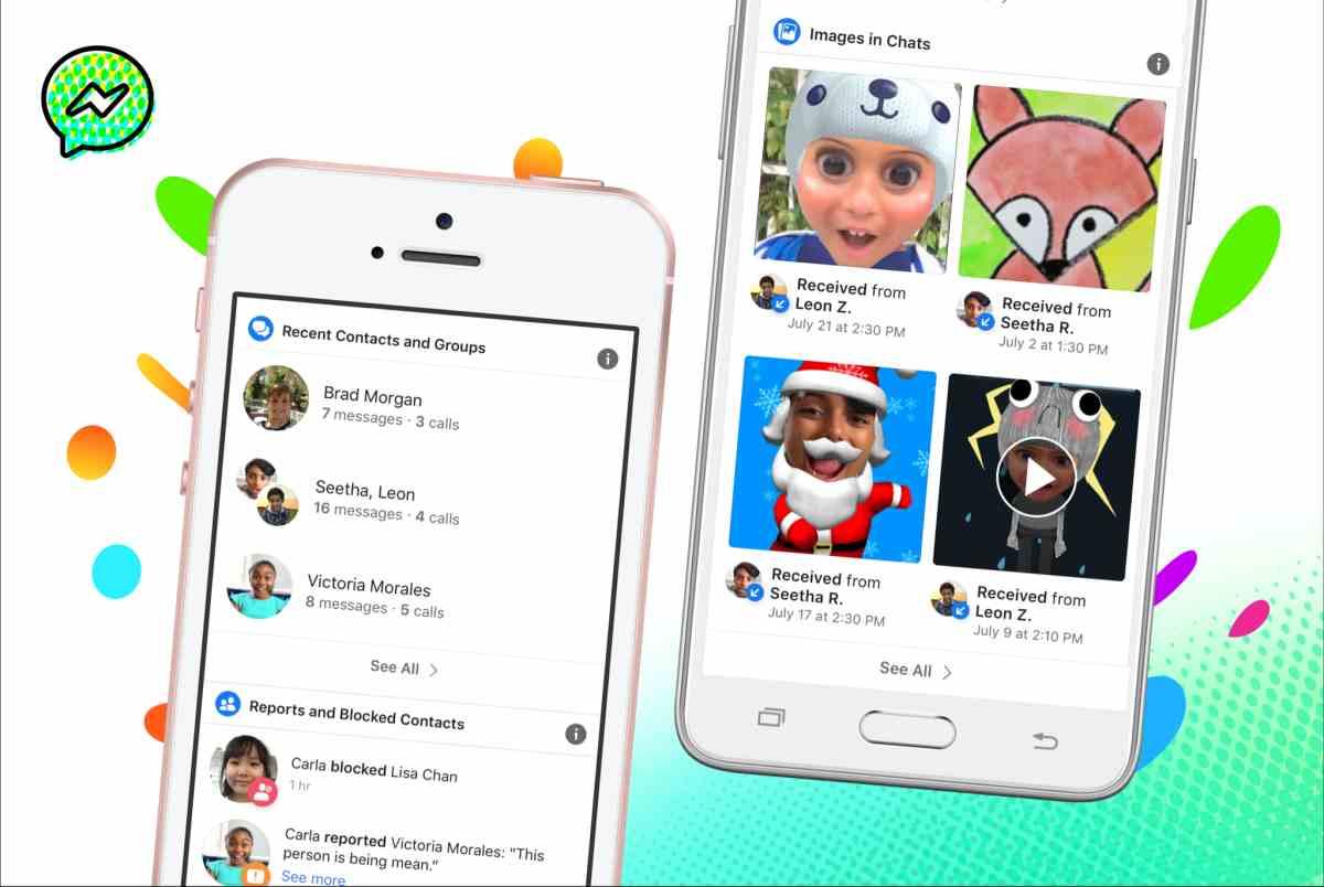 Messenger Kids, la app de mensajería para niños, cuenta ahora con más controles parentales