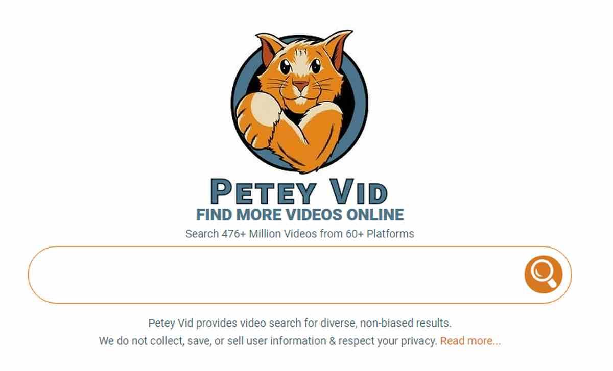 Un buscador de vídeos en la web que ofrece resultados variados y respeta la privacidad