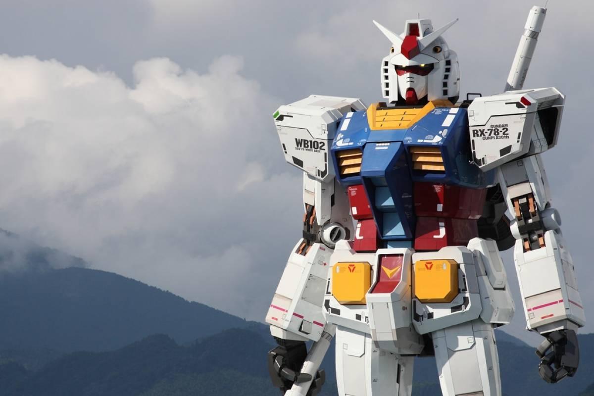 Japón y su robot Gundam de 20 metros basado en su propio anime de 1979, para los Juegos Olímpicos
