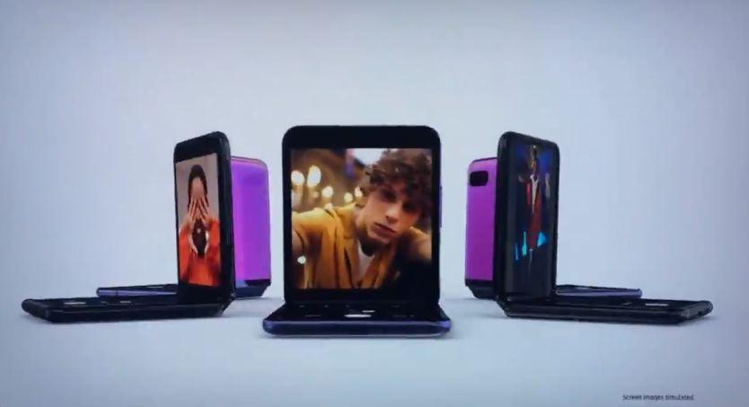 Samsung presenta el anuncio de su nuevo móvil plegable