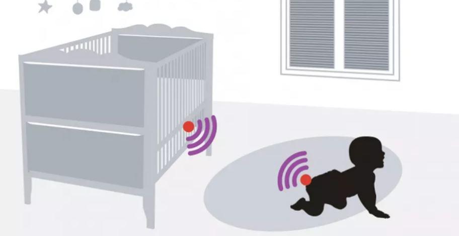 Sensores que avisan cuando el pañal está sucio