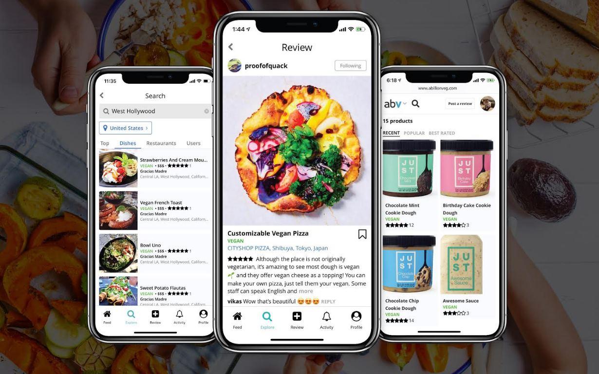 comida vegana app