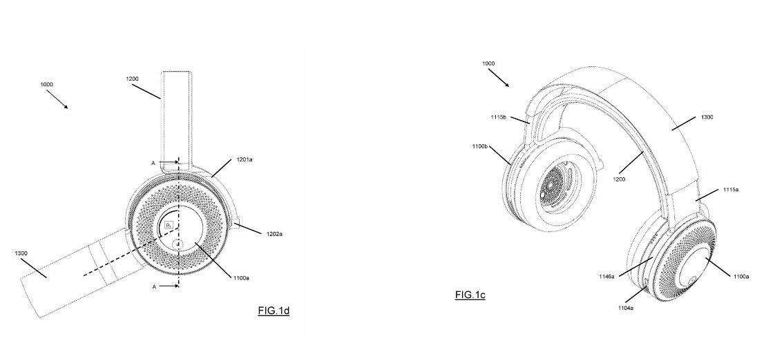 Nueva patente muestra auriculares con purificador de aire incluido
