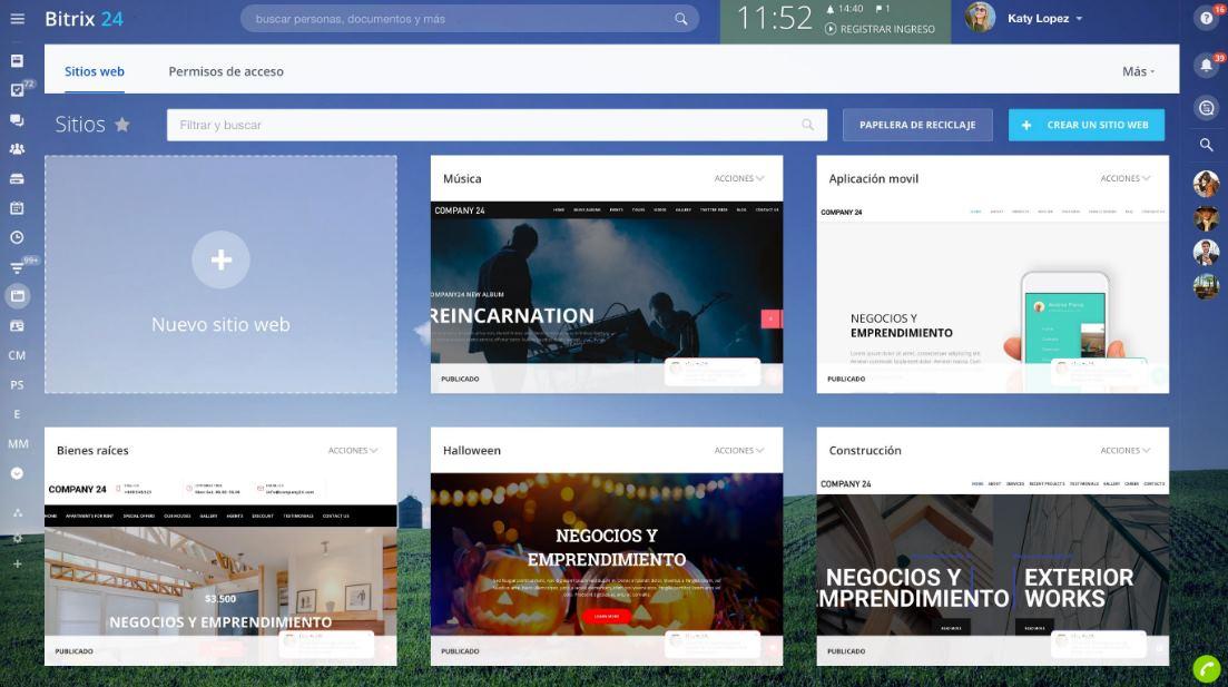 Sitios y Tiendas Online