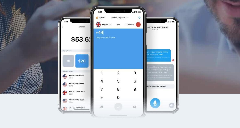 Una app que traduce las llamadas que hacemos a otros idiomas