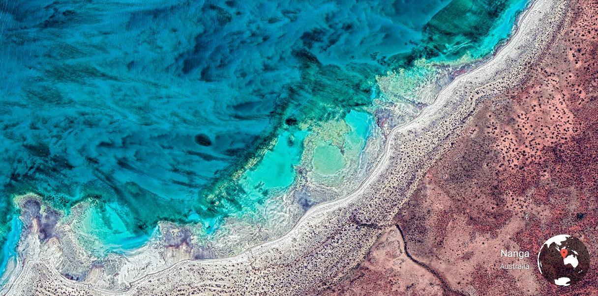 Google divulga 1.000 de las mejores fotos hechas con Google Earth