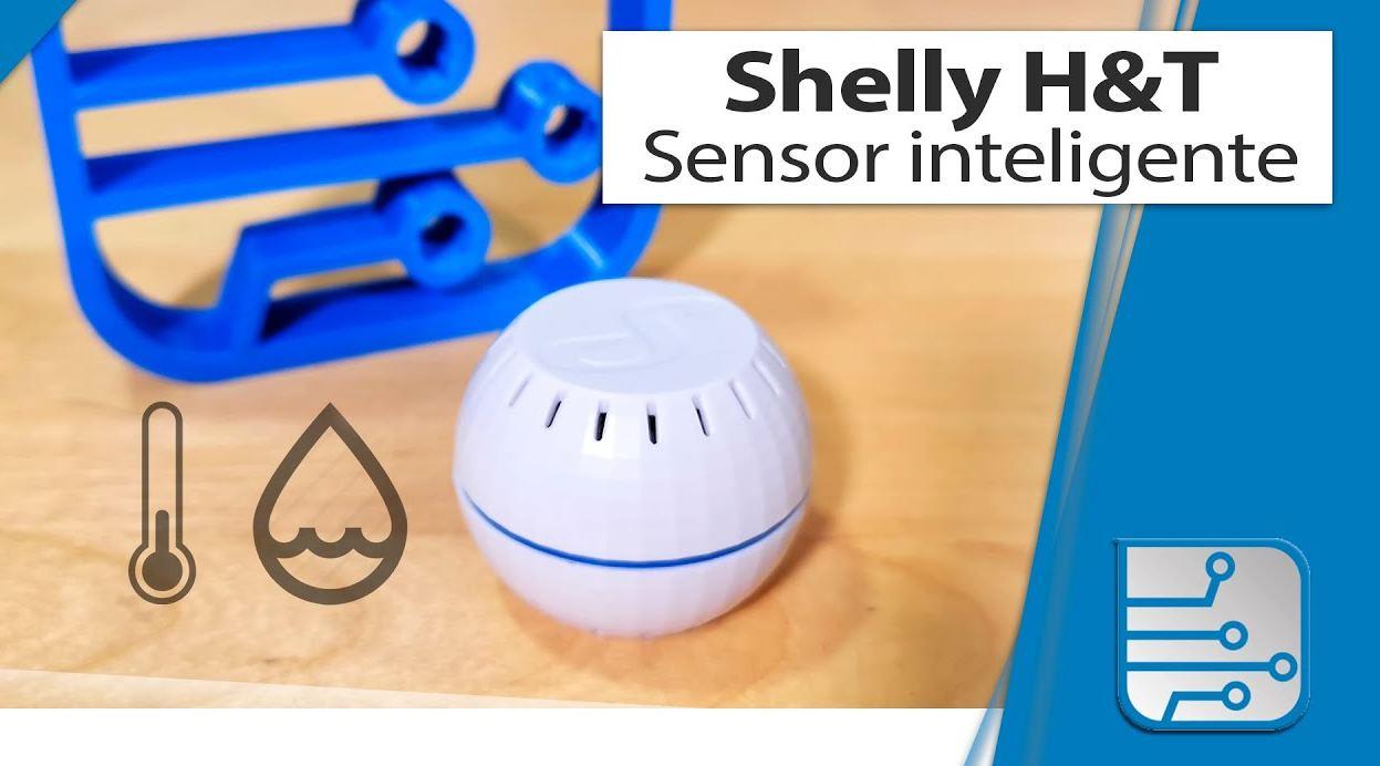 Un sensor de temperatura y humedad que muestra evolución y podría configurar acciones