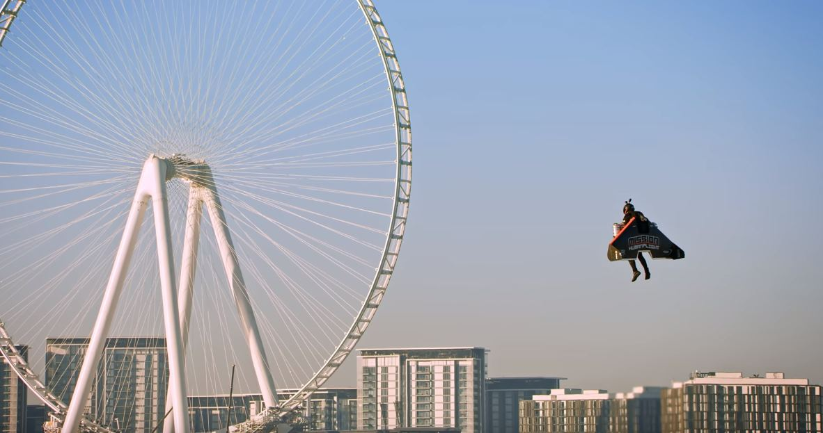 Empresa de jetpack cada vez más cerca de convertir a sus pilotos en Iron Man