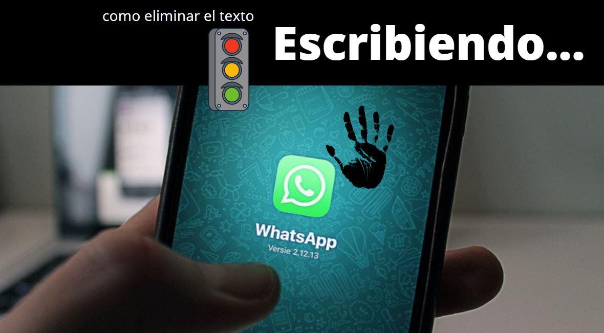 whatsapp escribiendo
