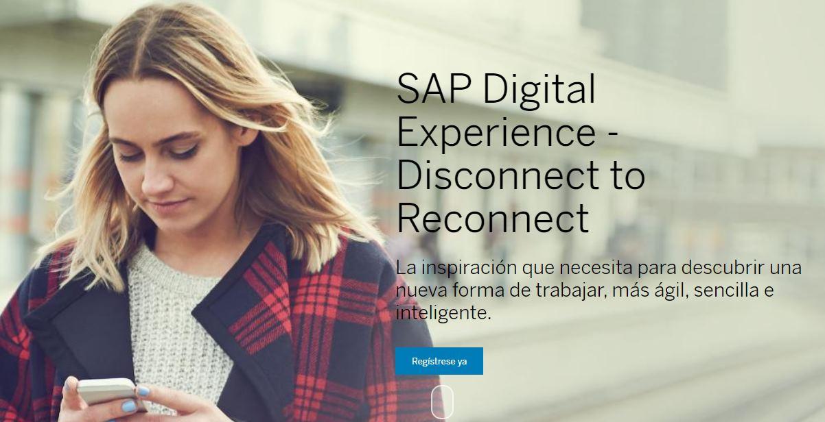 SAP nos descubre los beneficios de la empresa inteligente en su próximo evento online