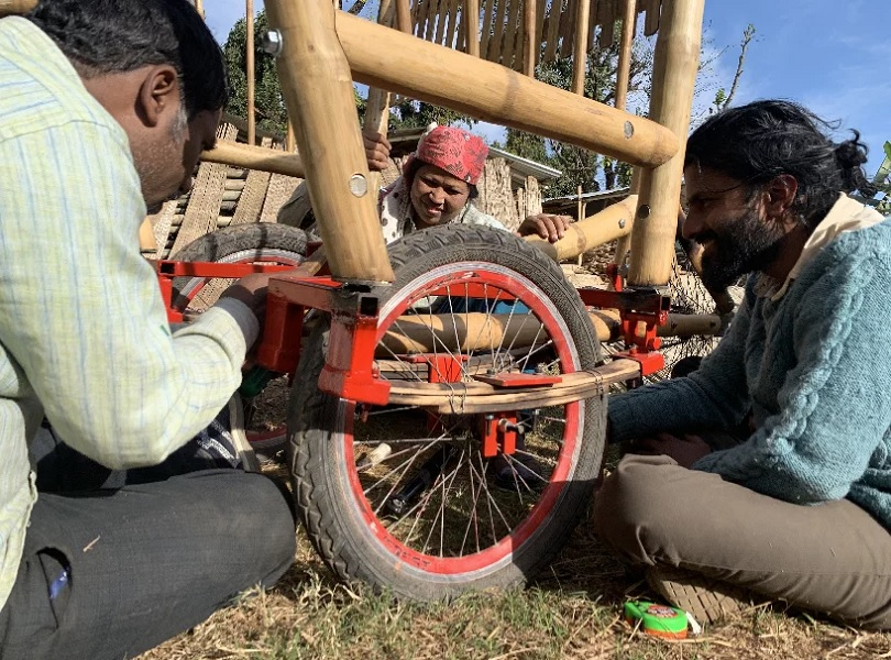 Habre Bamboo Cargo Bike