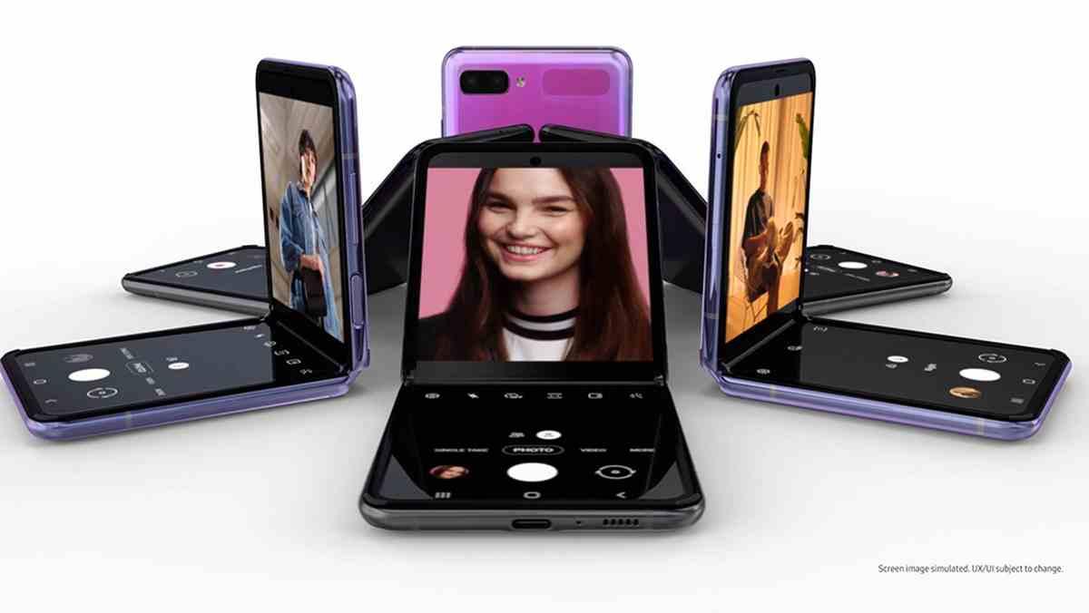 El nuevo Galazy Z Flip de Samsung es presentado en sociedad