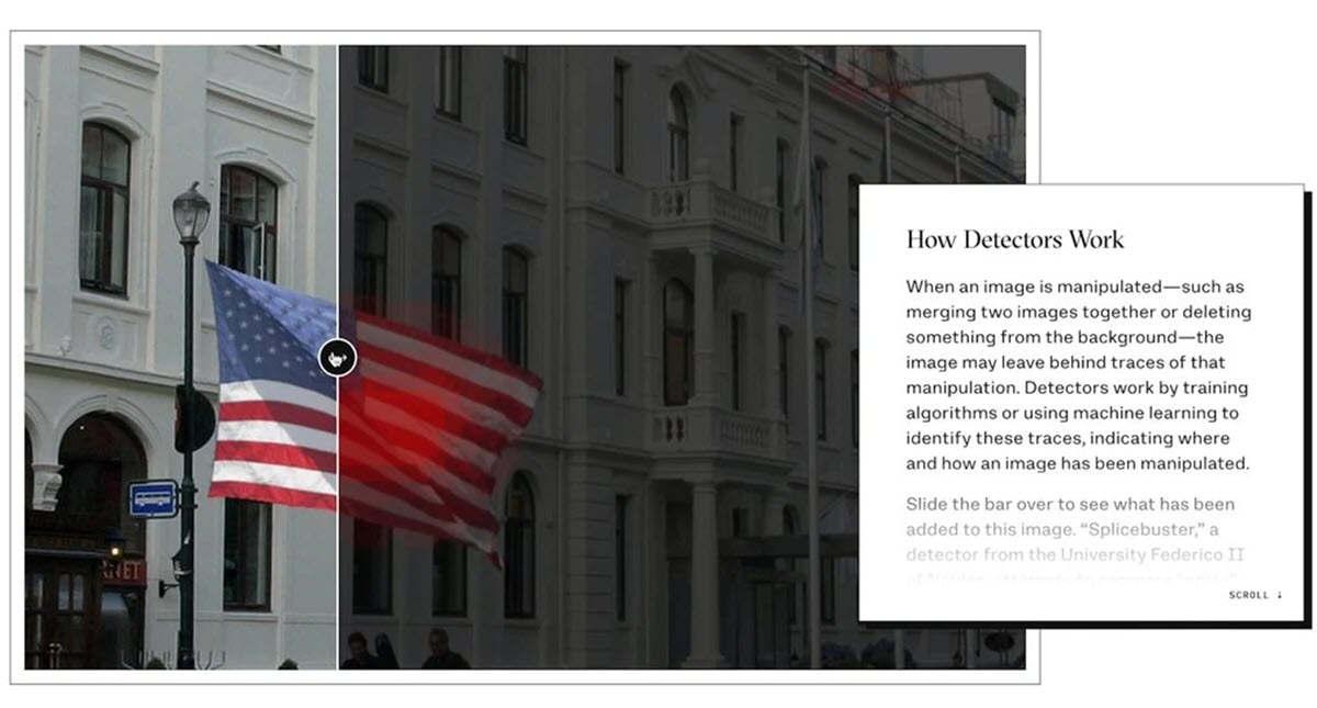 Google lanza una herramienta para detectar imágenes falsas