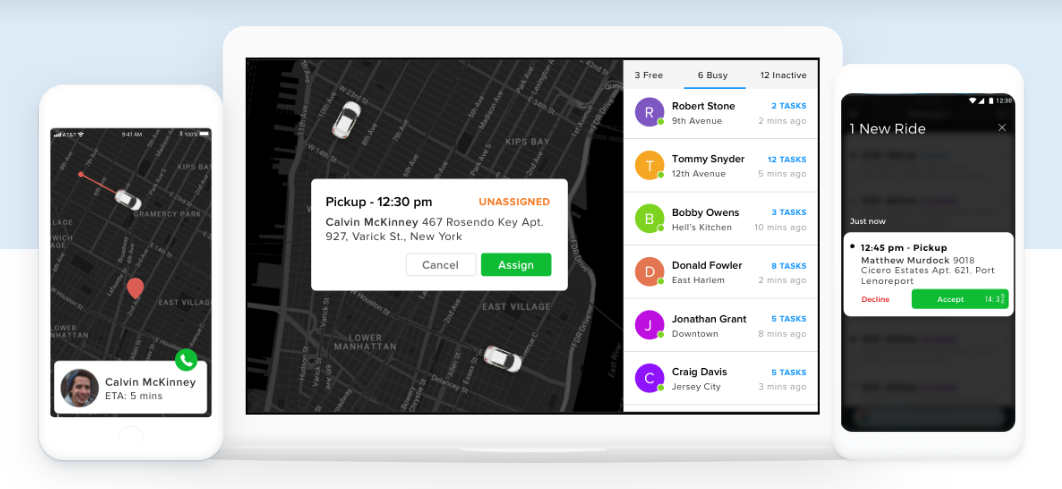 Crea una app similar a Uber con Jungleworks