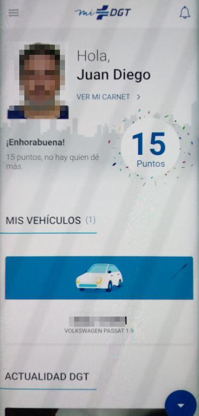 carnet conducir digital