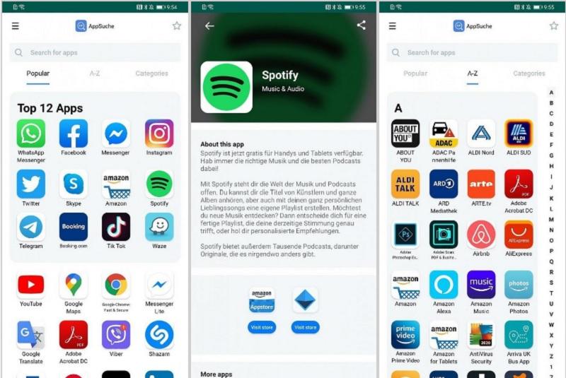 Huawei App Search: la nueva herramienta capaz de descargar apps sin necesidad de Google Play
