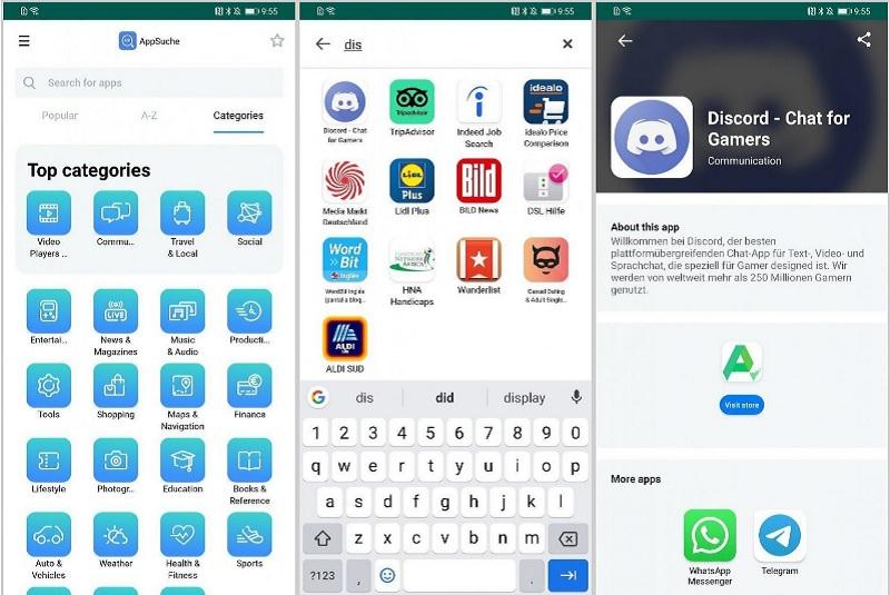 apps de huawei