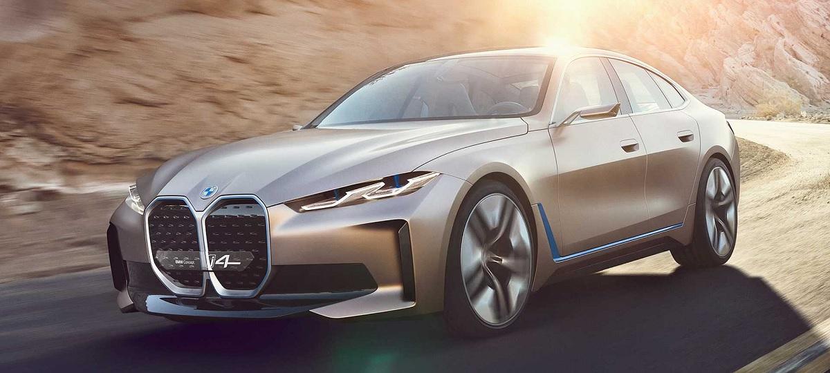 BMW i4 Concept, el nuevo concepto eléctrico futurista de la firma con motor de 530 caballos de fuerza