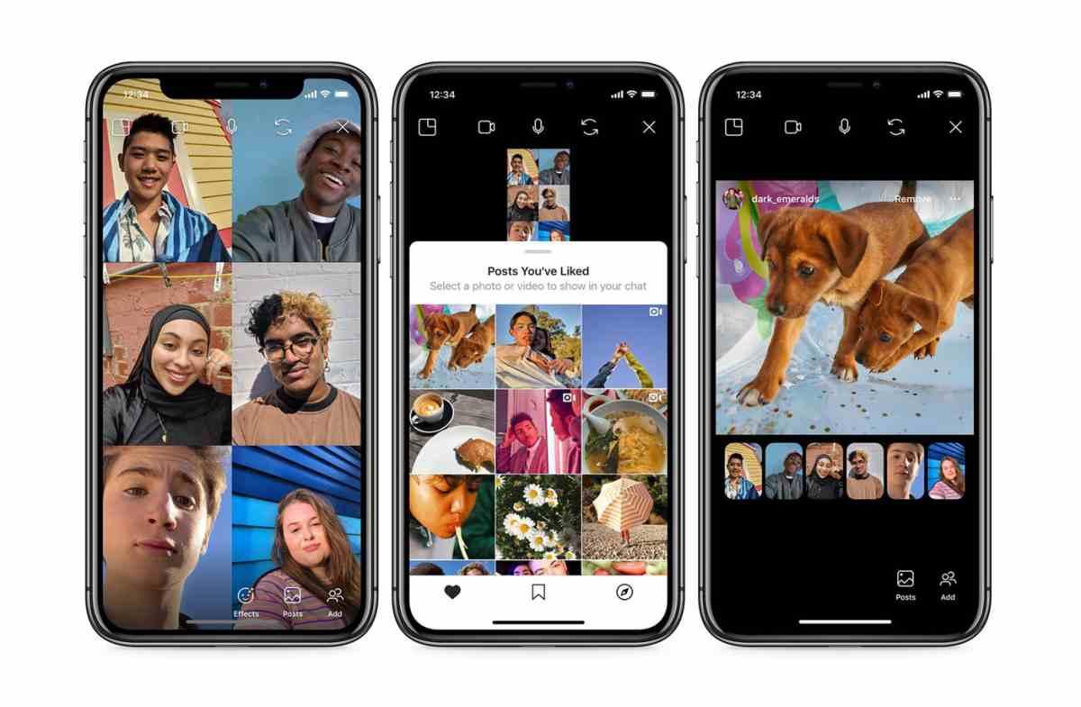Co-Watching, la nueva función de Instagram para compartir vídeos durante las vídeo-llamadas