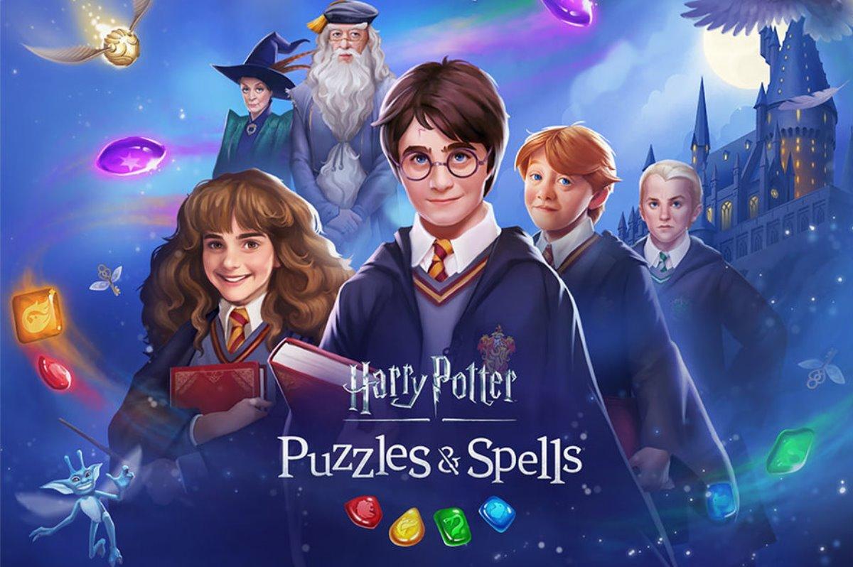 Harry Potter: Puzzles & Spells, juego móvil de Zynga para Match-3