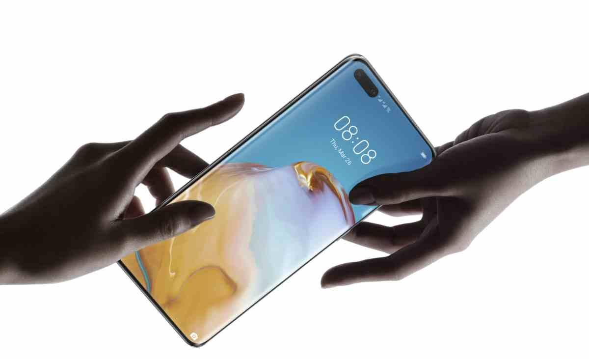 Así es la nueva serie P40 de teléfonos de Huawei