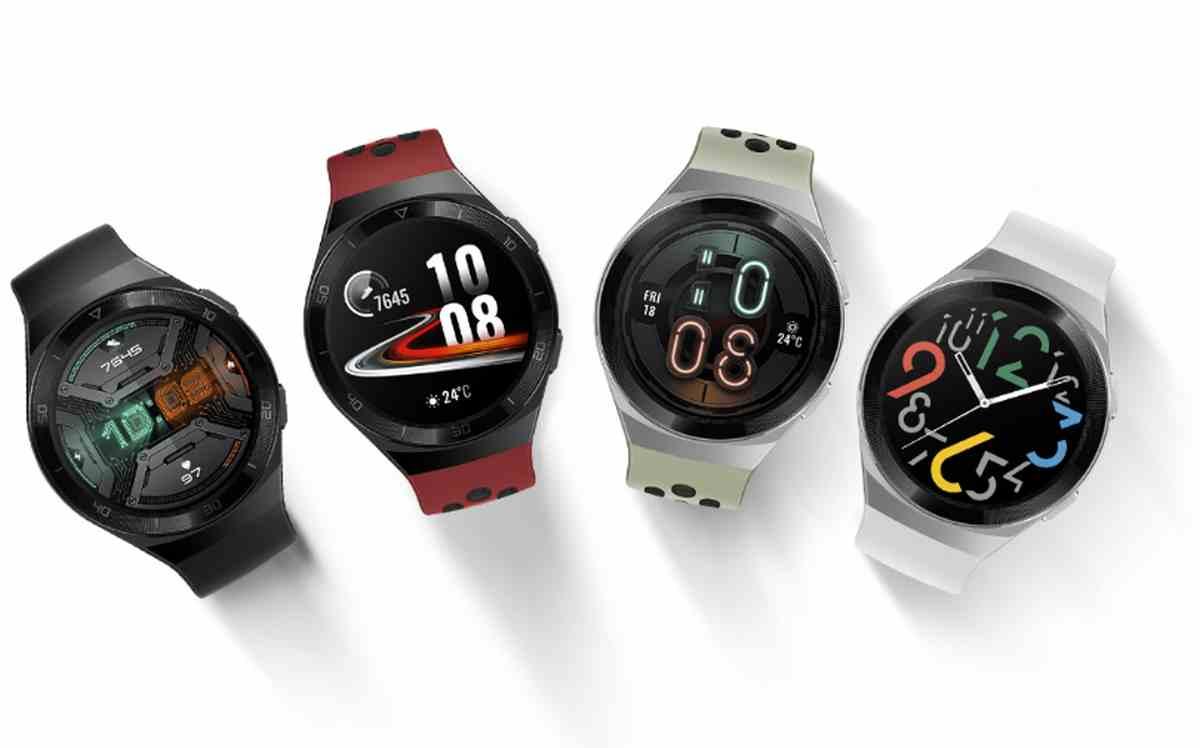 Así son los nuevos relojes inteligentes deportivos de Huawei