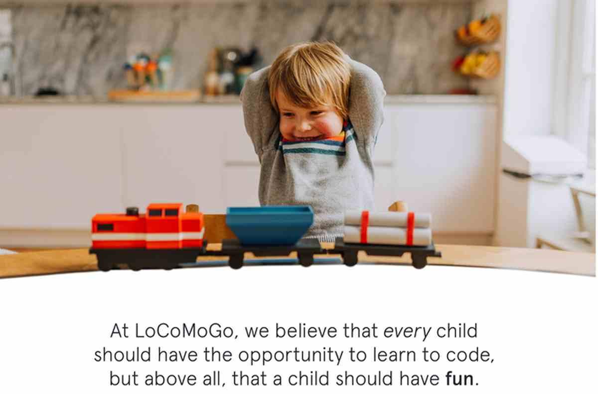 LoCoMoGo Train, para que los niños aprendan habilidades de programación jugando con el tren