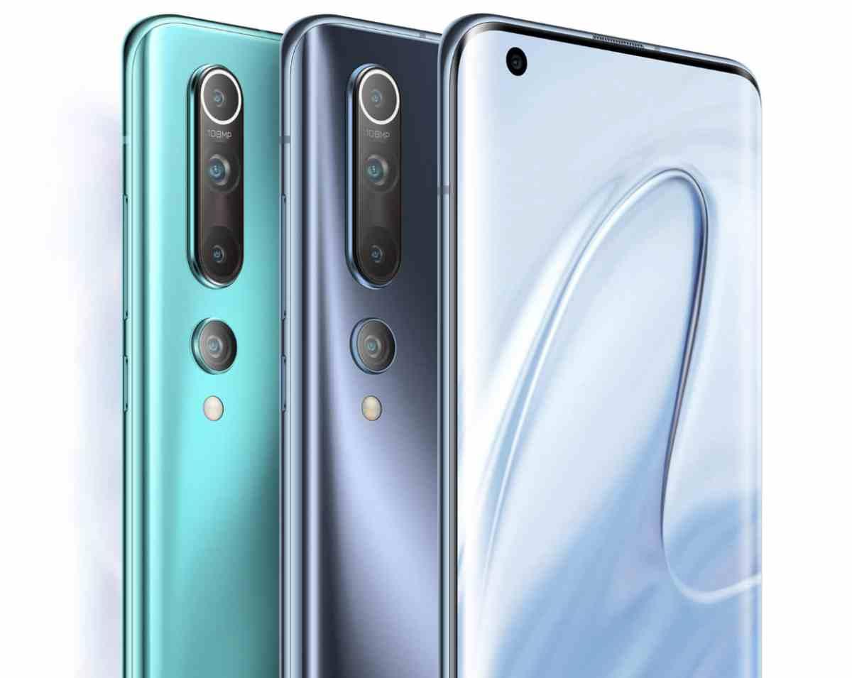 Así queda la nueva serie Mi10 de teléfonos de Xiaomi, preparada para las fotos y el 5G