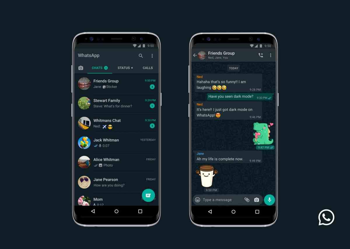WhatsApp lanza finalmente el tan esperado Modo Oscuro para Android e iOS