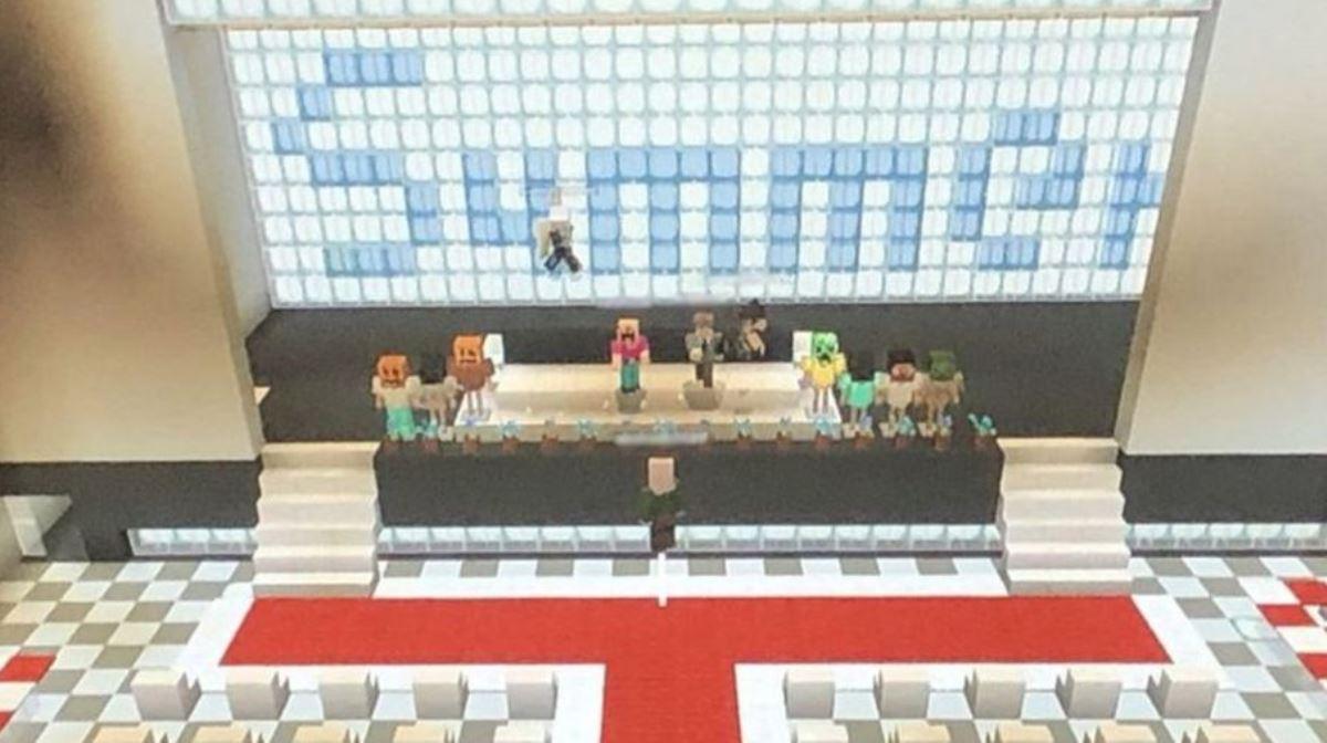 Niños en Japón celebran en Minecraft su acto de graduación cancelado por el Coronavirus